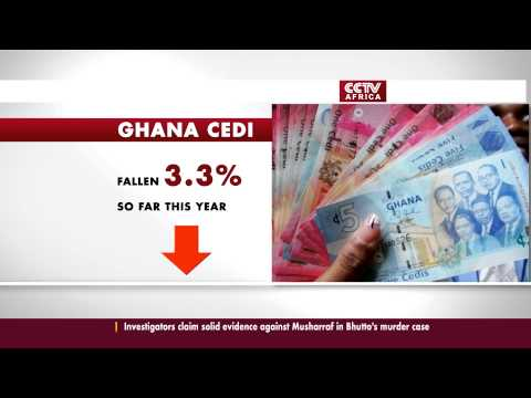 Ghana CEDI at Record Low