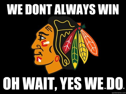 The Chicago Blackhawks FIGURE IT OUT!! STANLEY CUP CHAMPIONS!!