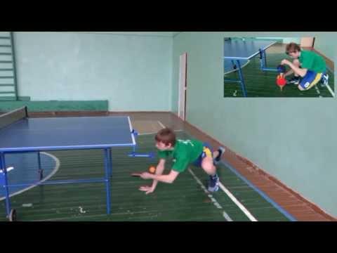 Тренажёр для настольного тенниса своими руками