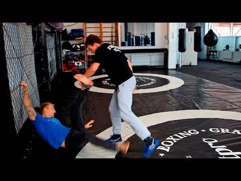 Как сбить противника с ног - Самбо для пацанов