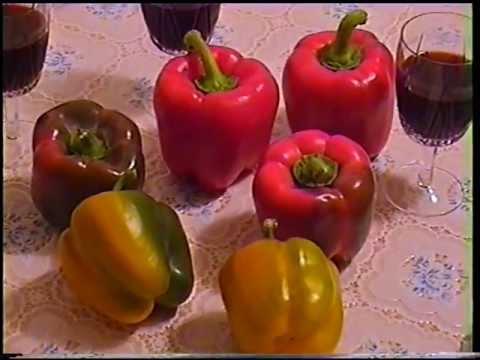Как приготовить перец Лечо