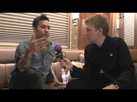 Interview: Pete Wentz of Fall Out Boy at AP Music Awards 2014