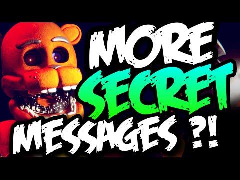 MORE SECRET MESSAGES?! - Five Nights at Freddy's 3 (FNAF 3)