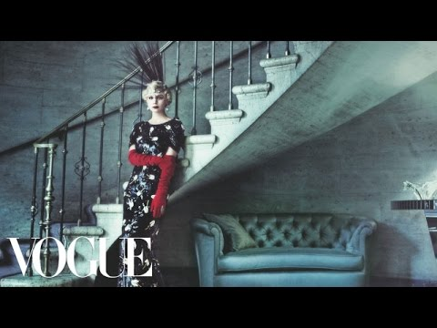 Behind the Scenes of Carey Mulligan's Great Gatsby--Themed Cover Shoot