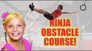 NInja Vs NInja Obstacle Course!! Ninja Kidz TV!