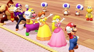 Super Mario Party - All Action Minigames