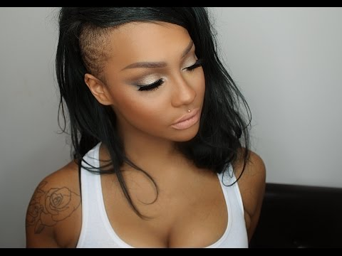 PROM MAKEUP TUTORIAL: SILVER AND GOLD SMOKEY EYES | SONJDRADELUXE