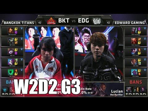 Bangkok Titans vs Edward Gaming   Week 2 Day 2 Group C S5 World Championship 2015   BKT vs EDG G2
