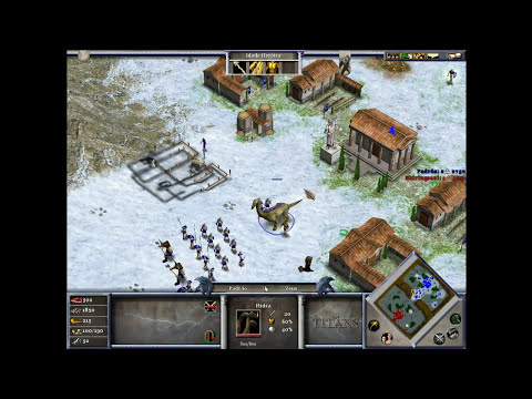 Age of Mythology: The Titans -  Zeus vs Thor