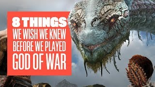 8 Things We Wished We Knew Before Playing God of War