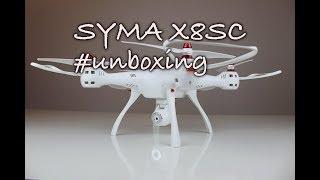 Syma X8SC - Unboxing a představení dronu Syma X8SC