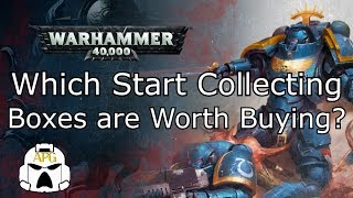 Which 40k Start Collecting Boxes Are Worth Buying?