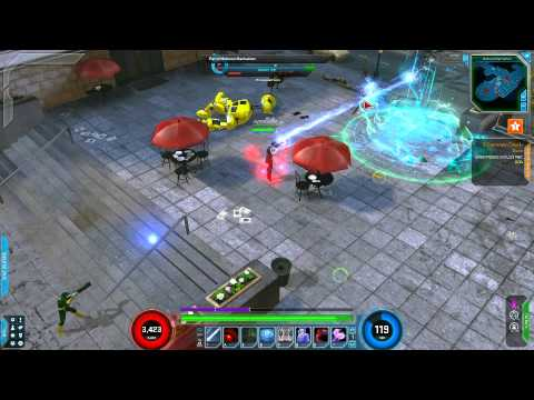 Marvel Heroes - Doctor Strange Mid-Town Gameplay (Level 25)