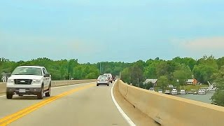 Driving in USA: Coastal Highway 4 Southern Maryland