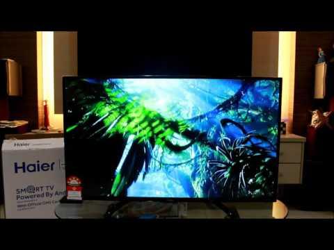 Haier U5000 Smart TV Unboxing Video