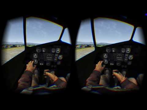 B-17 Bomber Cockpit View - Oculus Rift - War Thunder Mod