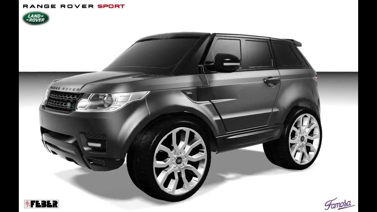 Childrens Range Rover Evoque 12v Feber Range Rover Sport 12v
