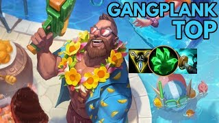 Pool Party Gankplang Top-League of Legends Full Gameplay