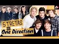 5 TRETAS DO ONE DIRECTION  Listas Awesomeness -
