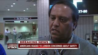 Americans headed to London concerned about safety