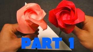 How to Make an Origami Rose - Part 1 - The Base