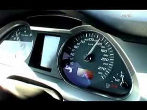 280 km/h en Audi S6 (Option Auto)