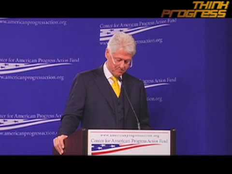 Bill Clinton at CAP