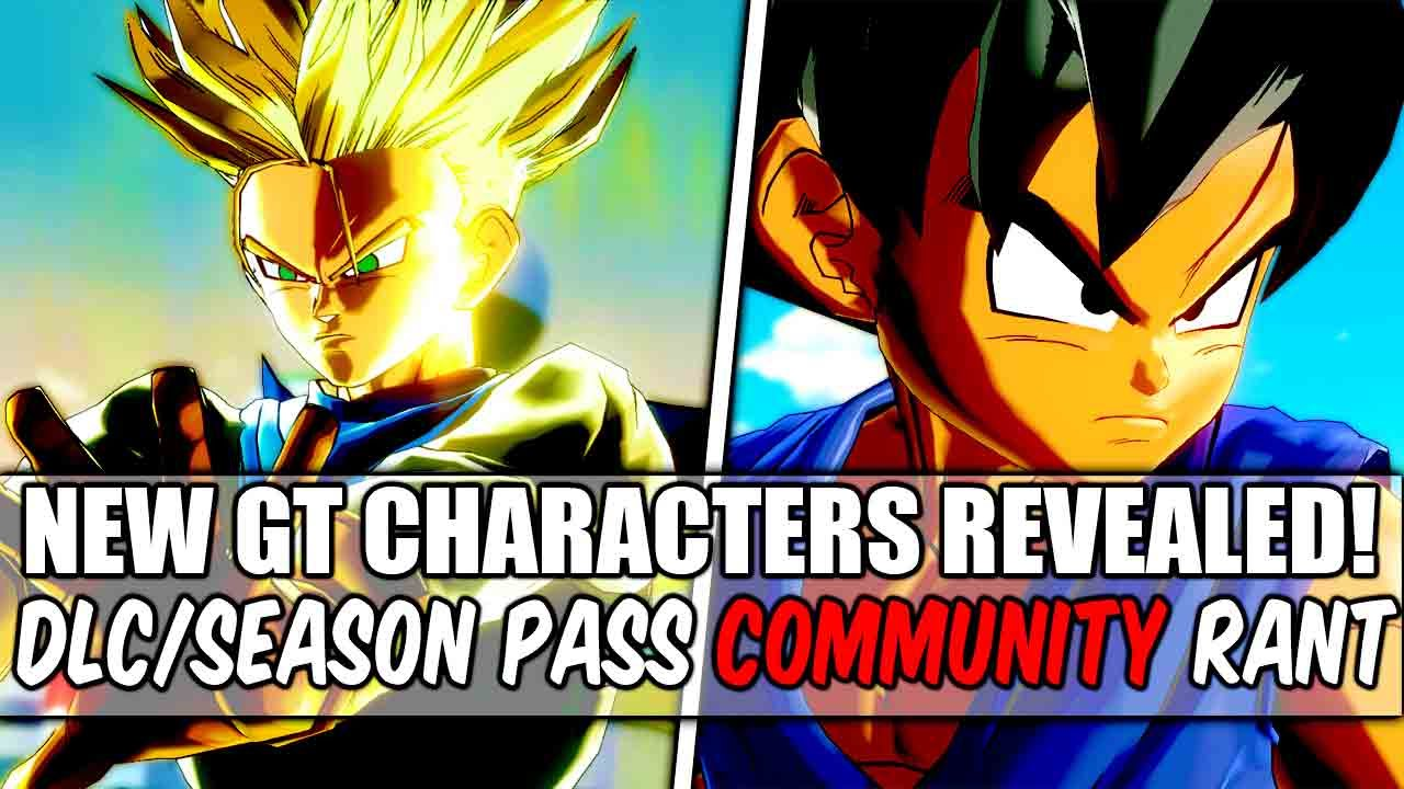 Dragon Ball Xenoverse gt Characters Dragon Ball Xenoverse New gt