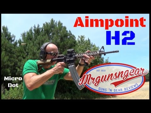 Aimpoint H-2 Micro Red Dot Review (HD)