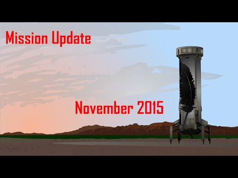 Mars One Mission Update: November 2015