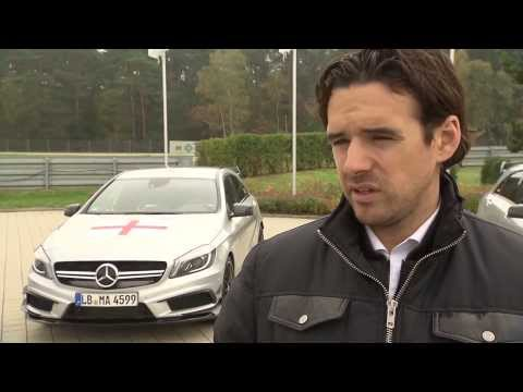 Mercedes-Benz Wettkampf der Nationen Interview mit Owen Hargreaves | AutoMotoTV Deutsch