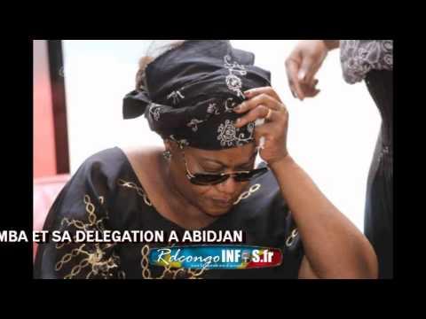 Arrivée de Mère AMAZONE, Madame Papa WEMBA à Abidjan