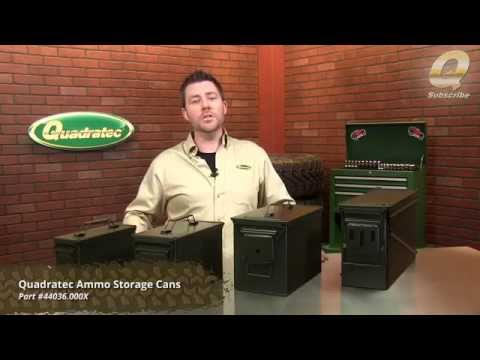 Quadratec Ammo Storage Cans