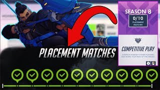 Overwatch Season 8 Placements Tips / Guide / Changes / Meta