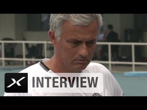 """Jose Mourinho: Platz in Peking """"sehr schlecht""""   Manchester City - Manchester United   ICC"""