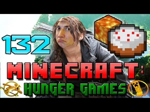 Minecraft: Hunger Games w/Mitch! Game 132 - LAVA CAKE!