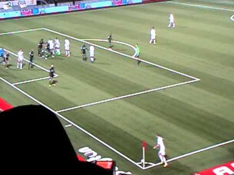 Steve Mandanda As Nancy vs Marseille S.Mandanda repousse Ligue 1 2011-2012