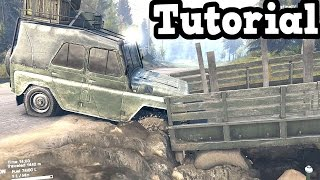 SPINTIRES - How I Loaded 2 A-469 Jeeps in a Truck + Trailer
