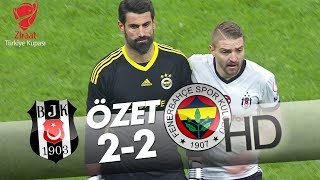 Beşiktaş - Fenerbahçe Maç Özeti