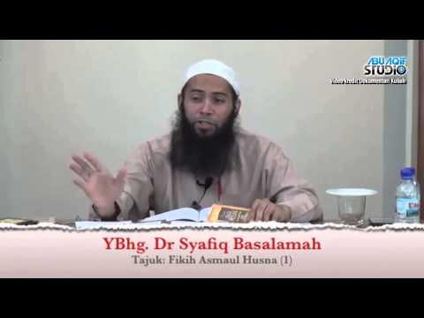 Dr. Syafiq Reza Basalamah - Fikih Asma'ul Husna 1-7 video