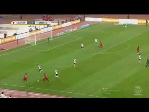 Douglas Costa (FC Bayern) vs FC Valencia , 4:1 , Audi Summer Tour China 2015 , HD