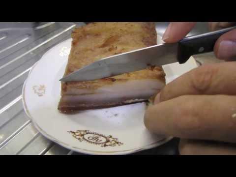 Сало копчёное вкусное - рецепт для дома