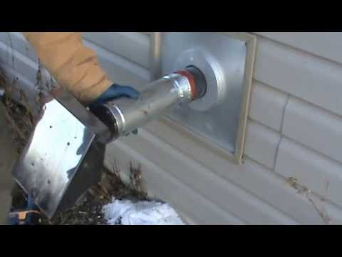 Pellet Stove Installation Part 1