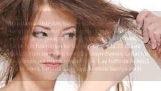 Yanmış Saçlar İçin Saç Bakım Maskesi
