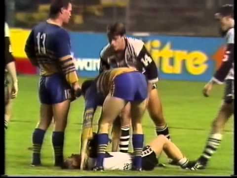 They may be a merged entity (sort of) these days, but back in 1989 it was they were southside foes. This highlights package is taken from a Rnd 4 Souths Magp...