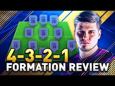 FIFA 18 BEST PRESSURE FORMATION TUTORIAL! THE 4321 GUIDE IN ULTIMATE TEAM! (FUT 18)