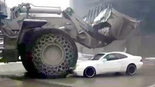 Contractor did not pay employee, WRECKS CONTRACTORS CAR ! Mining truck