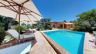 Peep inside.... Sunny 1.4 million euro Villa for sale near Santa Ponsa Golf...