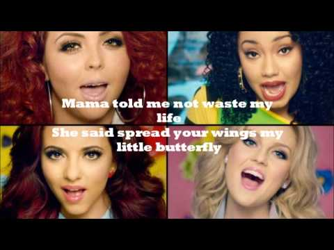 Wings Little Mix - Lyrics video