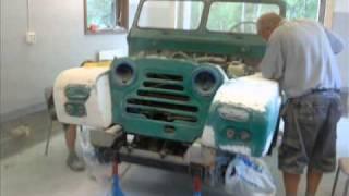 austin gypsy 67a diesel a-traktor renovering